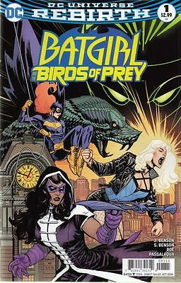 BATGIRL AND THE BIRDS OF PREY #1 (2016 1st Print) DC Rebirth COMIC