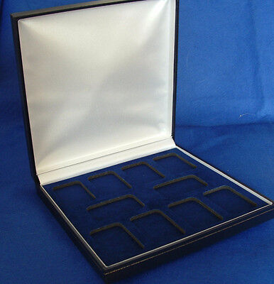 Display Case for 10 Silver Bullion/Art Bars in AirTite Capsules - 2 Colours