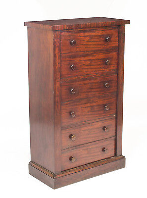 Antique Mahogany  Wellington Chest  Gillows c.1840
