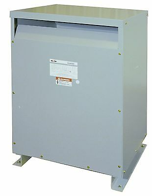 Transformer 112.5KVA 3 Ph 480V Primary 240/120V LT Secondary Federal Pacific New