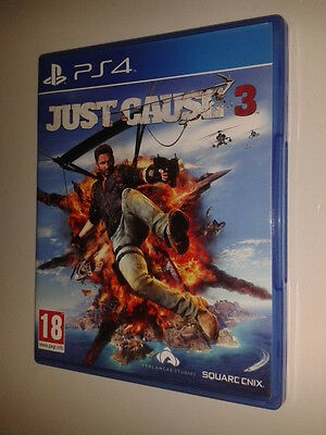 * Playstation 4 Game * JUST CAUSE 3 * PS4 *