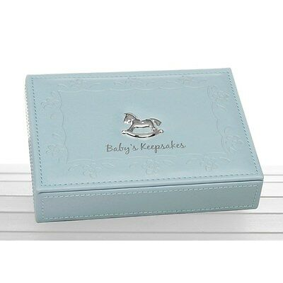 Baby Blue  BOY Keepsake Box Christening Gift 71096 *