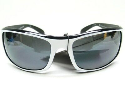 STRIKE KING S11 Optics White Black Okeechobee Gray POLARIZED Lens Sunglasses!