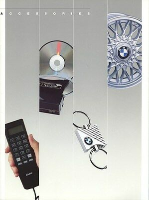 1989 BMW Accessories Brochure d0842