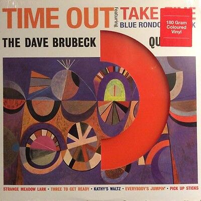 Dave Brubeck QUARTET TIME OUT LP Vinyl NEW