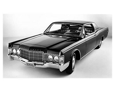 1969 Lincoln Continental Coupe ORIGINAL Factory Photo oub5256