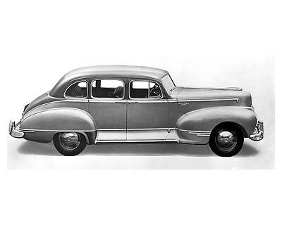 1946 Hudson Commodore Six ORIGINAL Linen-Backed Factory Photo oub5359