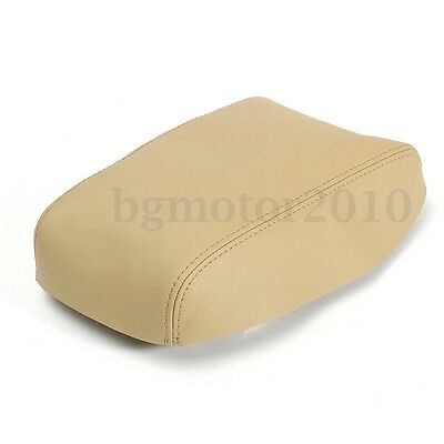PU Leather Armrest Center Console Cover Lid Skin For Toyota Highlander 08-13 NEW