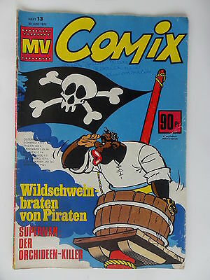 Micky Vision Comix 1970  Nr. 13 Zustand 3