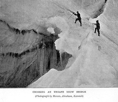 George Abrham Keswick Mountaineering In The Alps 1898 Six Antique Prints Mounted