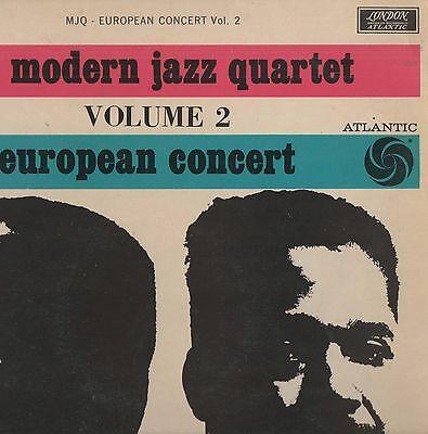 The Modern Jazz Quartet - 'European Cocert Vol.2' 1961 UK London Mono LP. Ex!