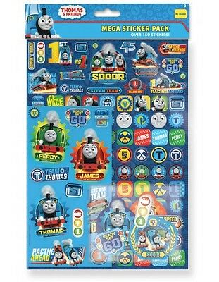 Pack of Over 150 Thomas & Friends Stickers, Thomas the Tank Engine