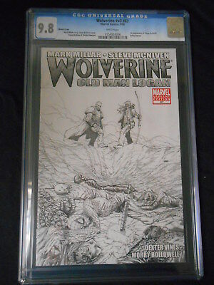 Wolverine Old Man Logan Vol 3 #67 Variant Cover Cgc 9.8 (Marvel 2008 1St Print)