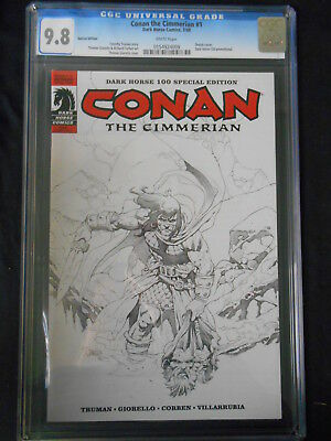 Conan The Cimmerian #1 Variant Cover Cgc 9.8 (Marvel 2008 1St Print)