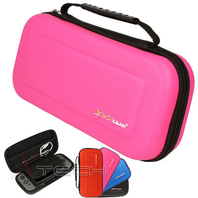 Hard Protective Carry Storage Game Case Cover Pouch for Nintendo Switch - Pink