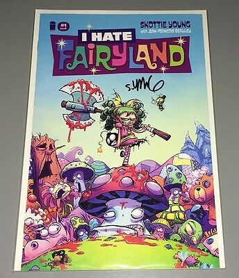 I Hate Fairyland #1~Hand-Signed By Writer/artist/creator Skottie Young~