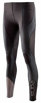 Skins K-Proprium Womens Long Tights Compression Leggings- Espresso