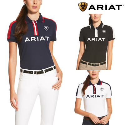 Ariat Ladies New Team Polo Shirt - FREE UK DELIVERY
