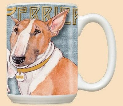 15 oz. Ceramic Mug (PS) - Bull Terrier MU985