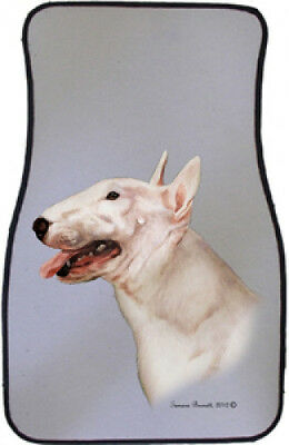 Car Floor Mats Pair - Bull Terrier 36099