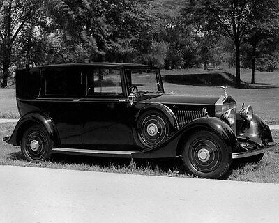 1934 Rolls Royce ORIGINAL Factory Photo oua8948