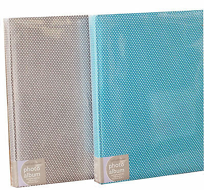 Large Bookbound Self Adhesive Photo Album Storage 50 Pages - Betty Grey Design