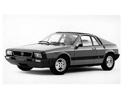 1976 Lancia Fancy ORIGINAL Factory Photo oua9225