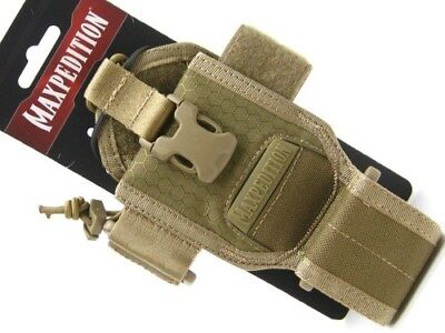 MAXPEDITION Advanced Gear Research AGR Tan RDP Radio Pouch Pocket Holder! RDPTAN