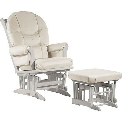 Dutailier Ultramotion- Sleigh Glider Multiposition,Recline and Nursing Ottoman C