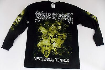 Cradle Of Filth- NEW YOUTH CHILD Mirror LONG SLEEVE Shirt- Large FREE SHIP!