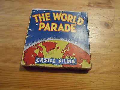 8MM Movie Projector Film Castle Films #234 America's Wonderland The World Parade