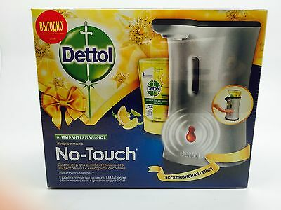 Dettol No Touch Antibac Hand Wash System silver and citrus 250ml refil