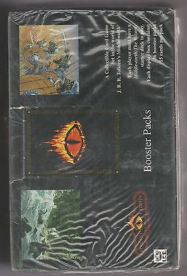 Lord Of The Rings Middle Earth The Wizards Factory Sealed Booster  Box