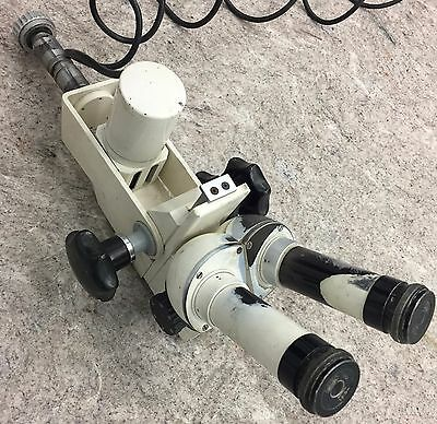 Vintage Rare Binocular Medical Surgical Microscope Carl Zeiss