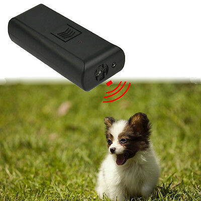 Hot Ultrasonic Aggressive Barking Dog Stop Repeller Control Trainer device