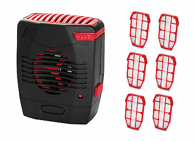 Lifesystems battery operated Portable Insect/mosquito Killer Unit (6x inserts)