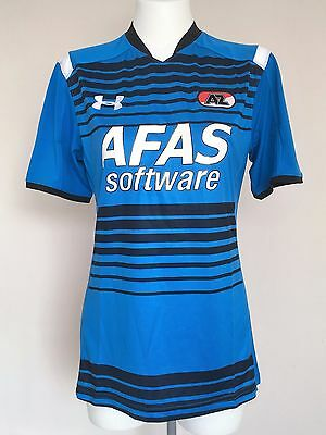 Az Alkmaar 2015/16 S/s Away Shirt By Under Armour Size Adults Large Brand New