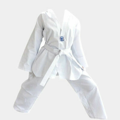 Taekwondo Uniforms kids and adults sizes 000 to 6/190 good quality great fit