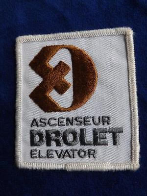 Drolet Elevor Company Canada Patch Employee Collector Badge