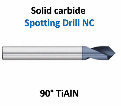 Solid Carbide Spot Drill NC 90° GDR-JFD1