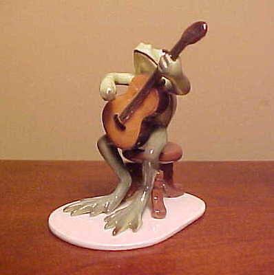 Hagen-Renaker Specialty #3179 Froggy/Froggie Mountain Breakdown GUITAR PLAYER