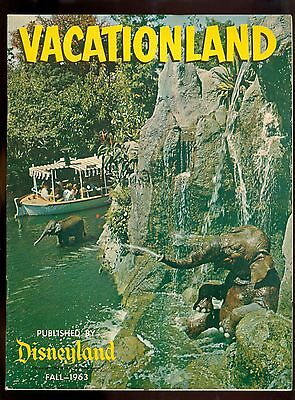 CR) Vintage Vacationland Fall 1963 Disneyland