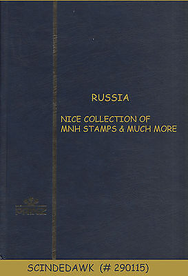 Russia - Nice Collection Of Mint Stamps & Much More - In Stock Book - Great Buy!