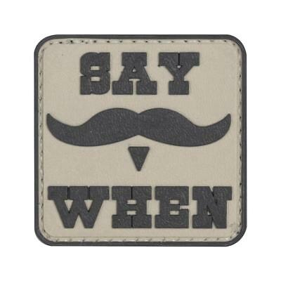 """5ive Star Gear Say When Tombstone Western Huckleberry PVC Morale Patch, 2"""" x 2"""""""