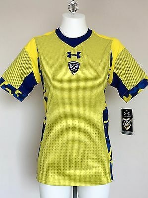 Clermont Auvergne S/s Gameday Home Jersey By Under Armour Size Adults Small