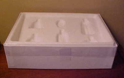 Hagen-Renaker Specialty BOX for #3000 Nativity Set - DID YOU THROW OUT YOUR BOX?