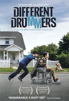 NEW Sealed Christian True Story Drama WS DVD! Different Drummers(Brayden Tucker)