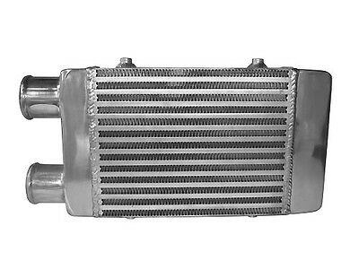Cooling-Pro Dual Same Side Outlet Bar & Plate Intercooler - Small Type