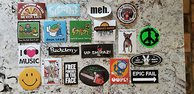 Very Differernt Than The Usual Sticker Lot 71 Different A Little For Everyone