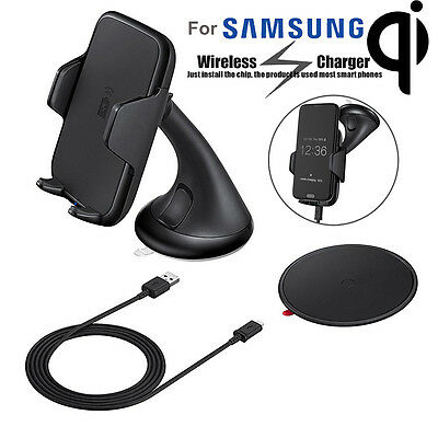 Wireless Charging Vehicle Dock Car Mount Holder for Samsung Galaxy S7 Note 5